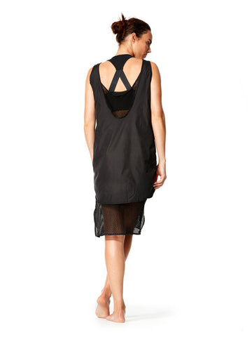 Black Serena Dress - Karma Athletics Après - back
