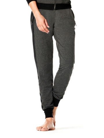 Heather Charcoal Mix Miesha Pant - Karma Athletics