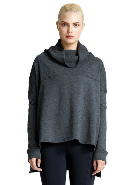 Heather Charcoal Kay Pullover