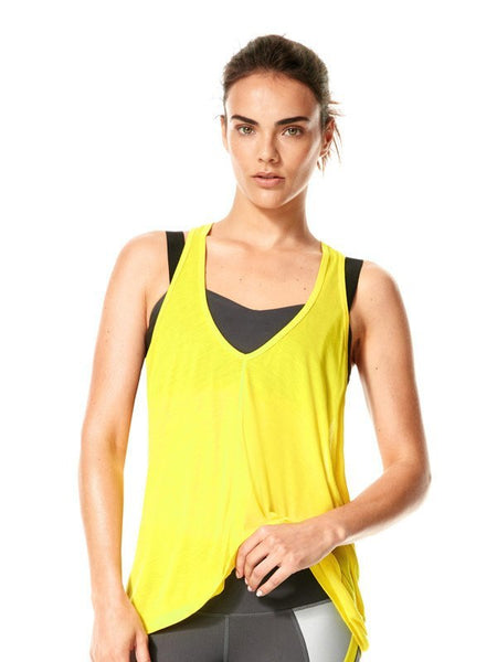 Blazing Yellow Skylar Tank - Karma Athletics