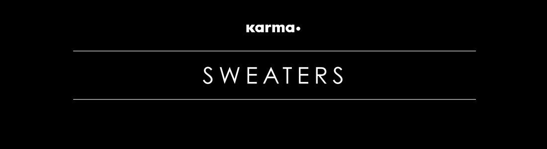 SWEATERS by KARMA