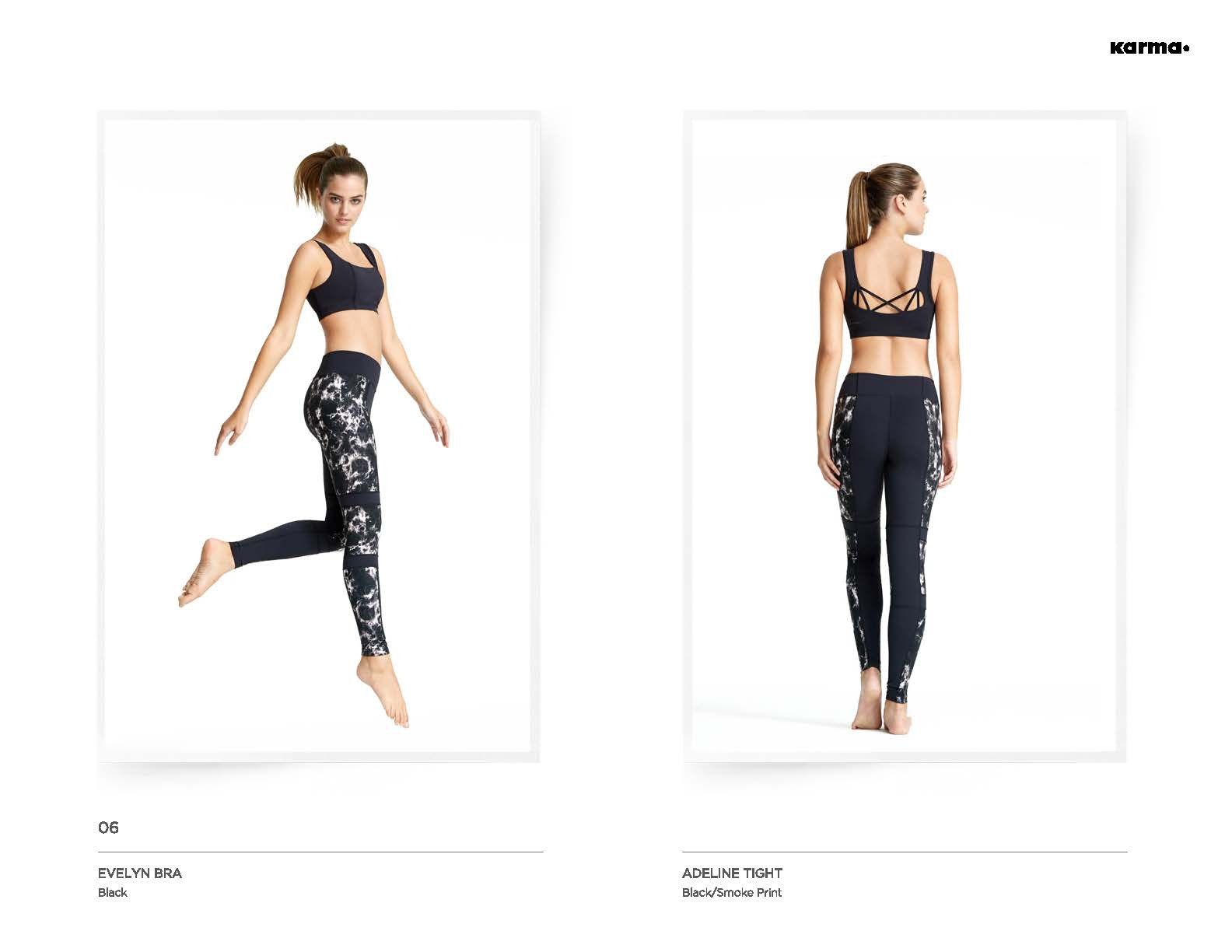 Evelyn Sports Bra & Adeline Tight High Performance High Fashion from Karma Team