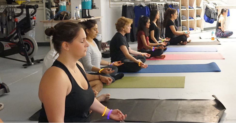 Kundalini Yoga group with Karma Athletics