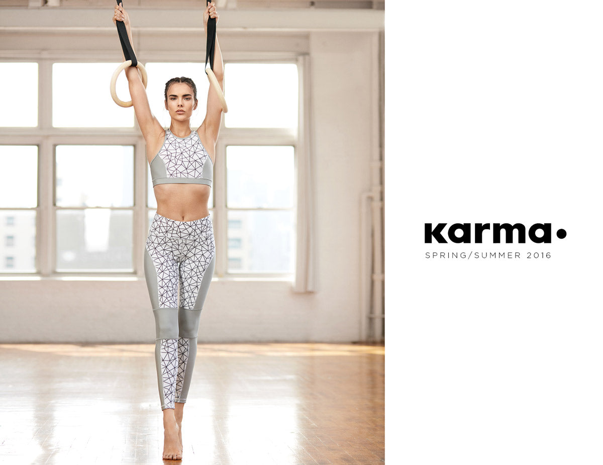 Karma Athletics Spring Summer 2016 Lookbook Cover