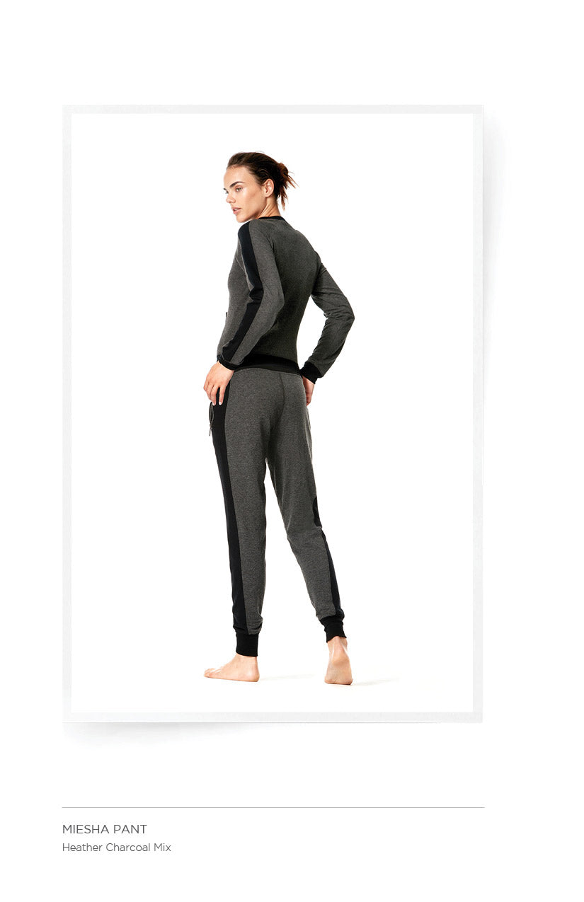Miesha Pant - Heather Charcoal Mix