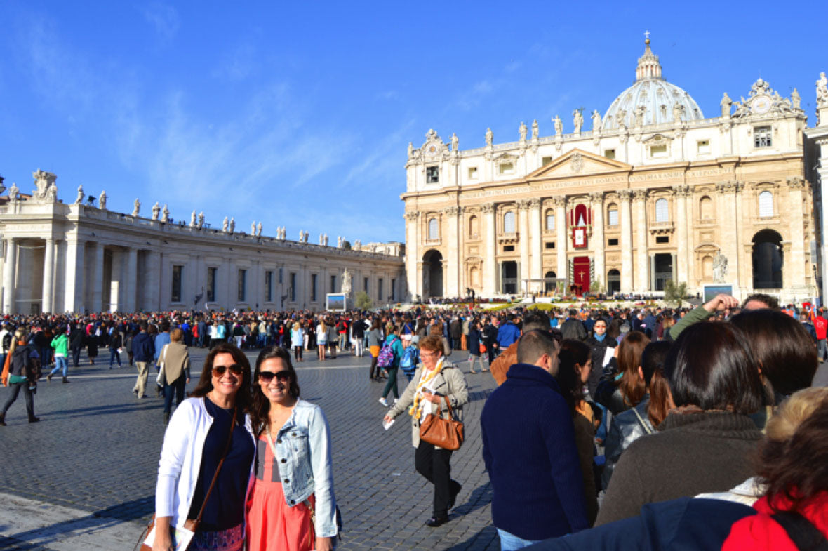 Karma Activist Annie Verderame - Easter Mass at the Vatican in Rome