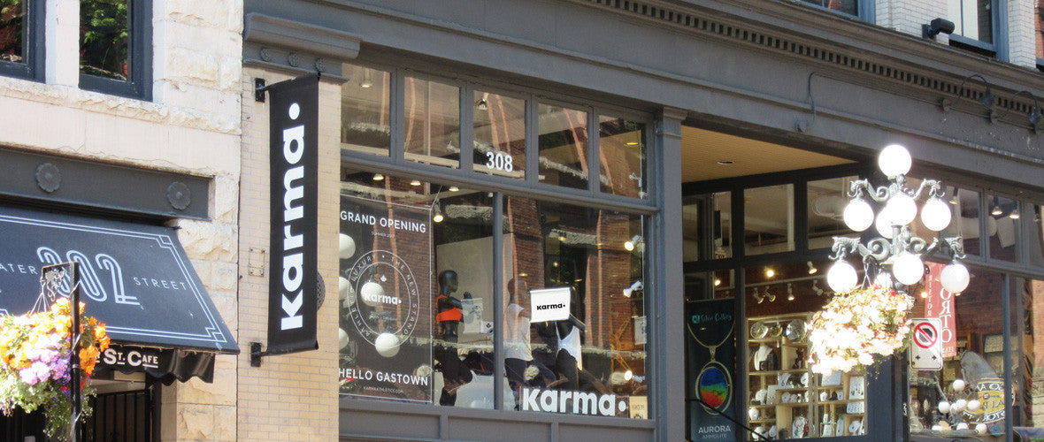 Karma Athletics Vancouver Gastown Women's Clothing Store