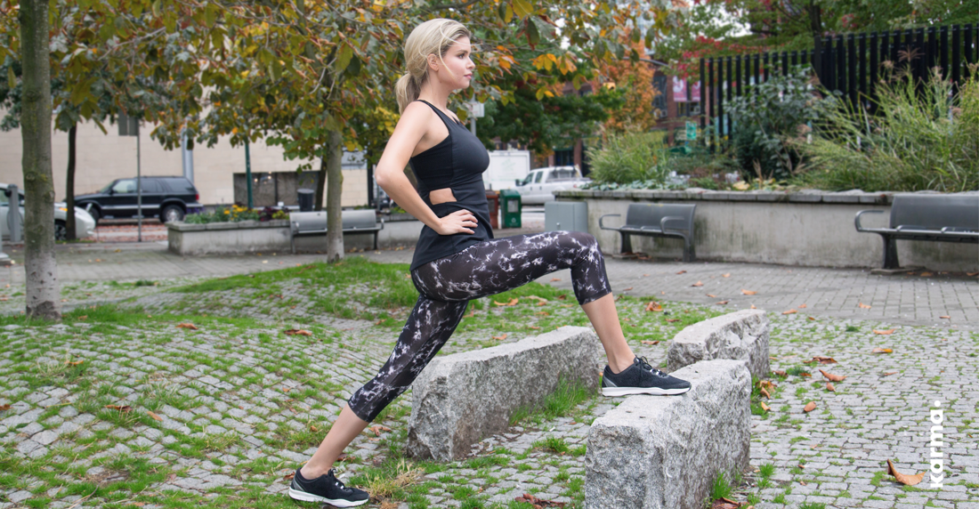 Get gorgeous to sweaty with Karma Athletics Fashion Active Wear