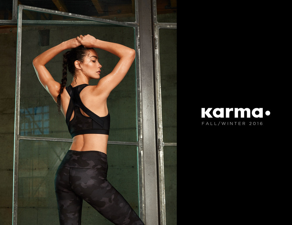 Karma Athletics Fall Winter 2016 Lookbook Cover