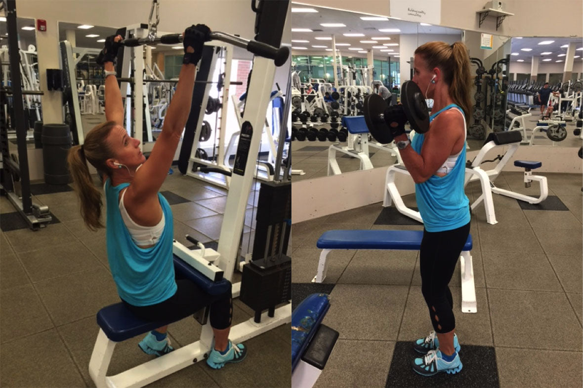 Laurie Idema-Wood Gym Workout