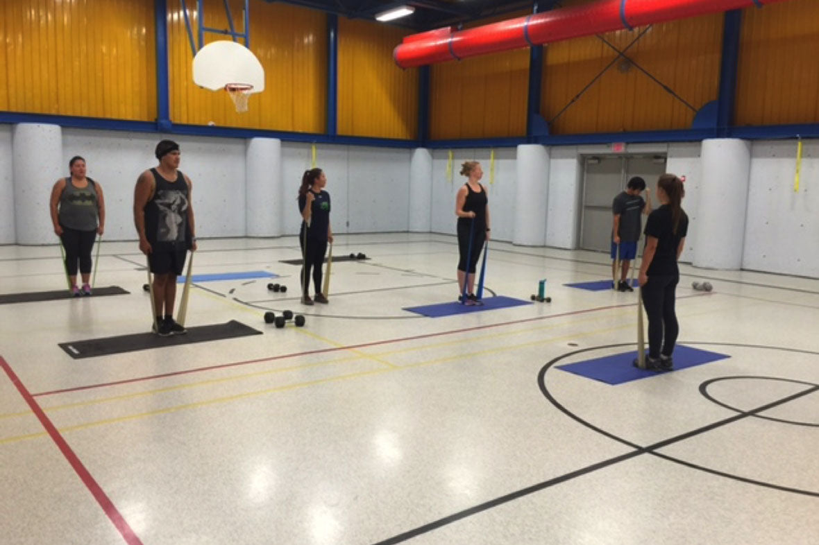 Laurie Idema-Wood Fitness Class