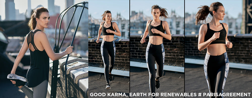 Karma Athletics: we care about Paris Agreement & the world