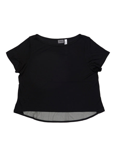Black Kara Tee - Karma Athletics