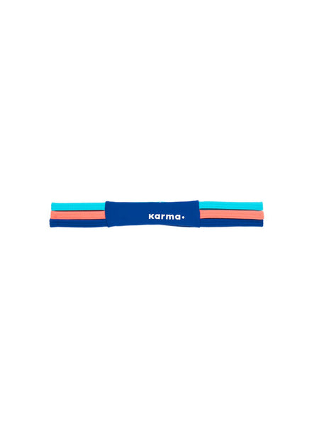 Trinity Headband - Vivid Multi - Karma Athletics