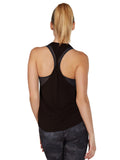 Colette Tank II - Black twisted back