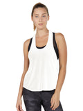 Colette Tank II - White loose tank top cover up
