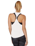 Colette Tank II - White twisted back