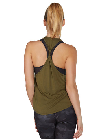 Colette Tank - Terrain Twisted back