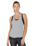 Colette Tank - Heather Ash Grey