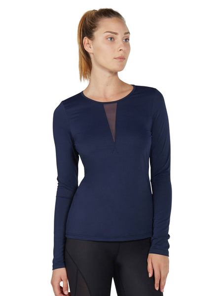 Daria Long Sleeve - Midnight Navy