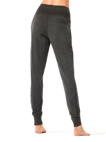 Heather Charcoal Finley Jogger - Karma Athletics Kore - back