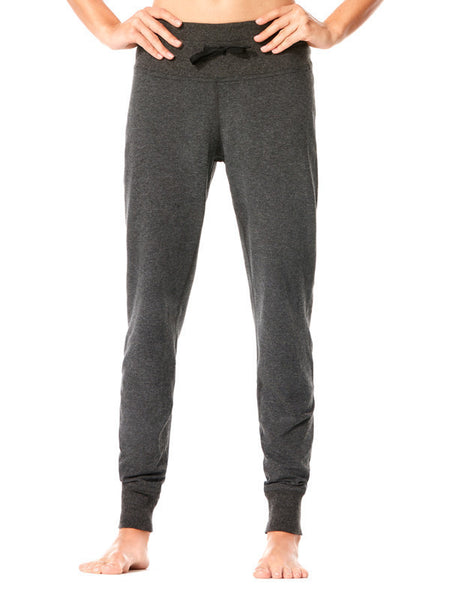 Heather Charcoal Finley Jogger - Karma Athletics Kore - front
