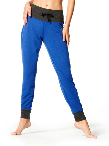 Surge Blue Finley Jogger - Karma Athletics Kore - front