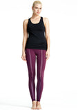 Black Pranayama Racerback II & Fig Golda Tight - Karma Athletics Active