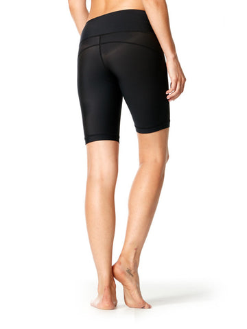 Black Mercedes Short - Karma Athletics Active - back