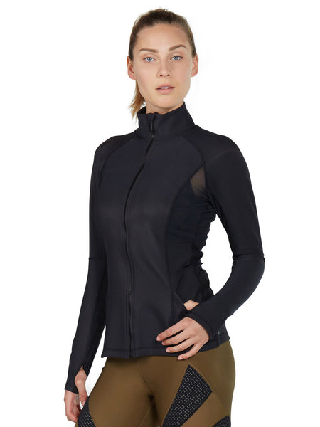 KarmaLuxe Micah Jacket - Black - Karma Athletics