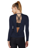 Paloma Sweater - Midnight Navy back