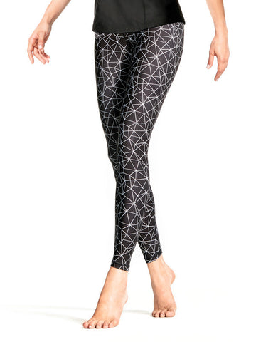 Shatter Glass Black Kyla Tight - KarmaLuxe