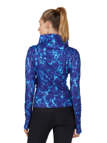Surge Mix Printed San Suu Jacket - back - Karma Athletics