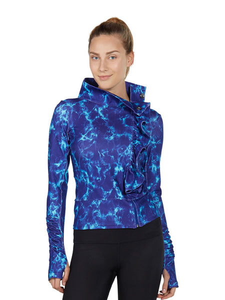 Surge Mix Printed San Suu Jacket - Karma Athletics
