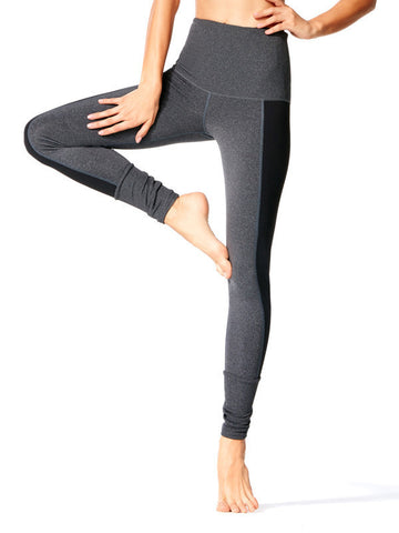 Black Satya Yama Tight - Karma Athletics Kore - front