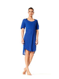 Surge Blue Simona Dress - Karma Athletics Apres Workout - front