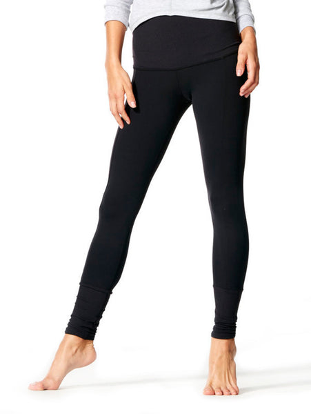 Black Yama Tight - Karma Athletics Kore - front