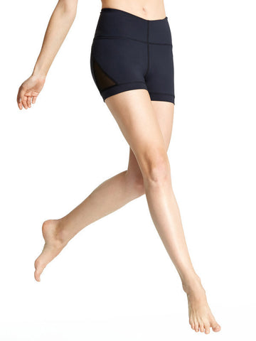 Black Erica Short - Karma Athletics Kore - front