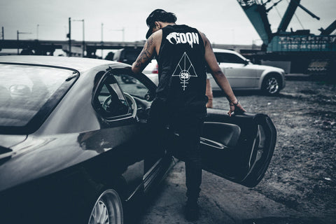 Black Goon Tank Top