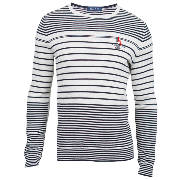Lanai/AC Striped Pullover Sweater