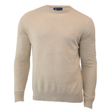 Heather Dune Courtside Lightweight Crewneck