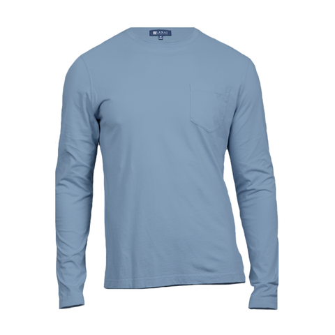 L/S Crewneck Pocket T-Shirt