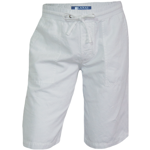 Cotton Linen Relaxed Short