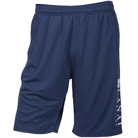 Navy Dry-Fit Elastic Short
