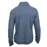 French Terry Shawl Collar Pullover