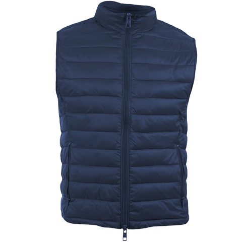 Navy/Maroon Nylon Reversible Vest