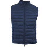 Maroon/Navy Nylon Reversible Vest