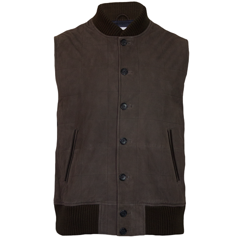 Clay Suede Explorer Vest