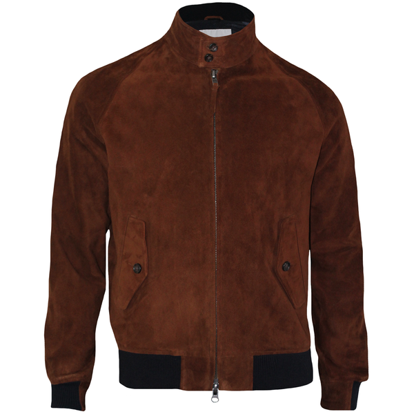 LANAI x Golden Bear Suede Pilot Jacket
