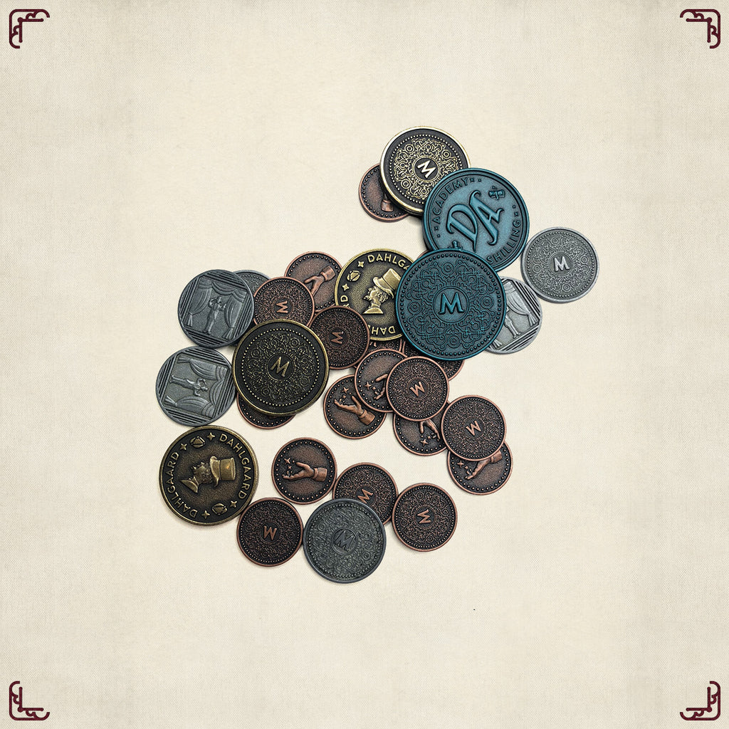 Trickerion - Metal Coins